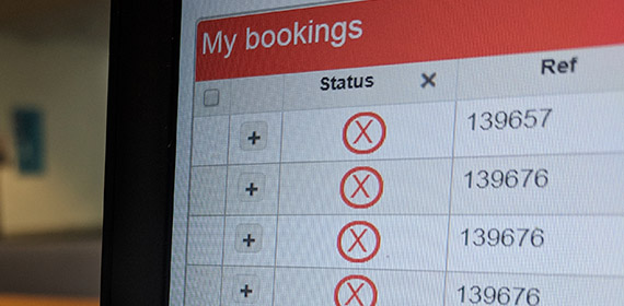 Cancelling a booking using CMISGo