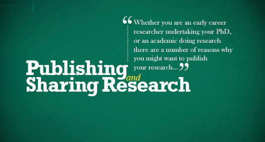 Publishing and Sharing Research