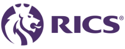 this is the RICS logo for the chartered Surveyor