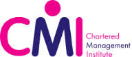 this is the CMI logo for the chartered management degree