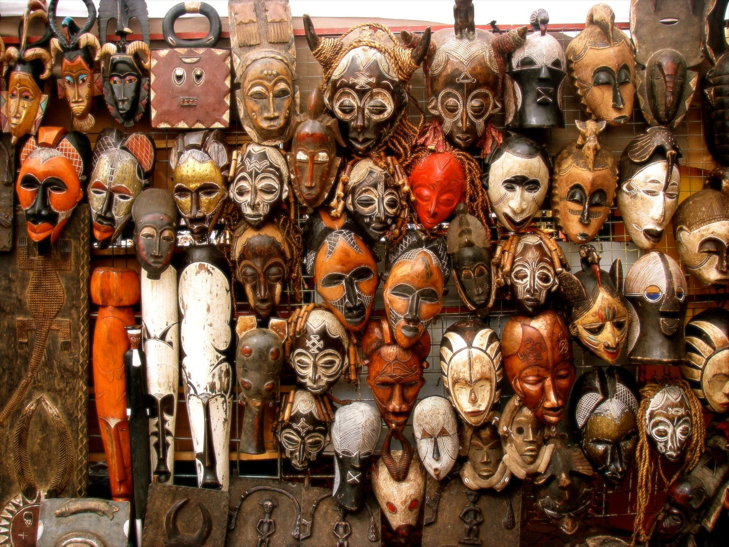 Around The World in Masks