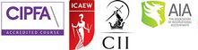 CIPFA, ICAEW, CII, AIA