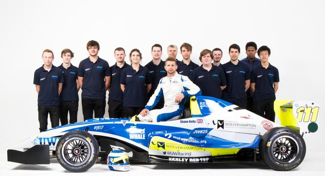 University of Wolverhampton F3 Race Team and Renault Car