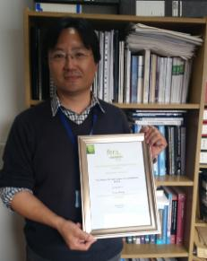 Dr Yong Wang, from the Management Research Centre, won the 'Best Paper on Conference Theme' at the 2015 International Family Enterprise Research Academy Conference in Hamburg.
