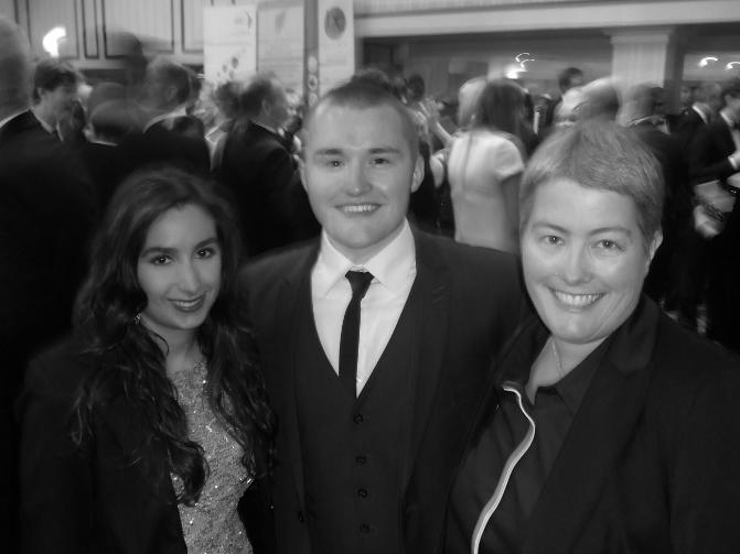 Aspiring film makers from the University of Wolverhampton attended the Regional Royal Television Society Awards.
