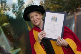 Honorary Graduate of 2015 Clare Teal