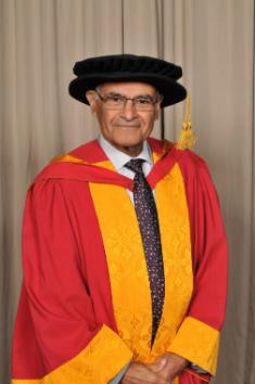 Honorary Graduate of 2015, Professor Rashid Gatrad