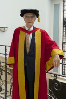 Honorary Graduate of 2015 Lord Kenneth Baker