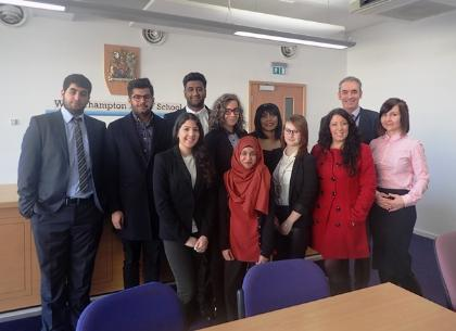 Students from FoSS volunteer at Wolverhampton Courts