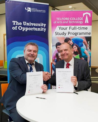 Developing skills and professional development for economic growth in Telford came under the spotlight at the business launch of University Centre Telford (UCT) at Southwater One.