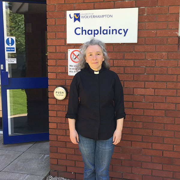 Picture of new senior chaplain Sarah Schofield