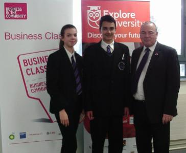 Pupils from Telford schools attend an event at the Telford Innovation Campus