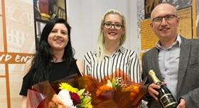 Former students create art exhibition in the Mander Centre