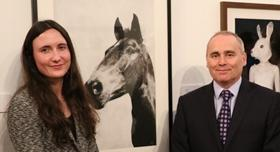 University sponsors first prize to the sum of £1,000 at the Staffordshire Art Exhibition