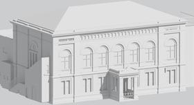 3D Model of historic building