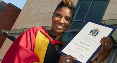 Honorary Degree for Olympian Denise 2