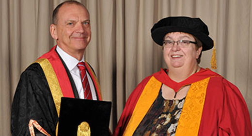 Elizabeth Hughes honorary degree