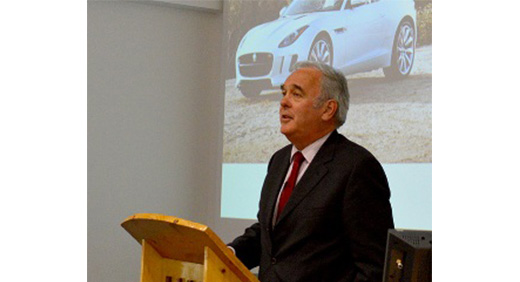 Mike Wright, executive director for Jaguar Land Rover (JLR)