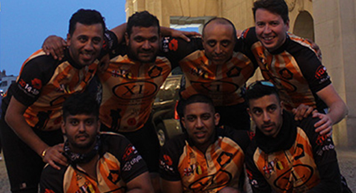Punjabi Wolves Charity cycling war