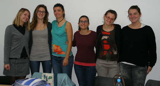 Six students from the University of Turin