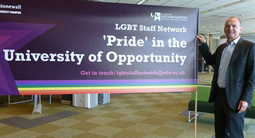 Vice Chancellor supporting LGBT
