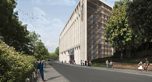 Plans for new Business School building 2