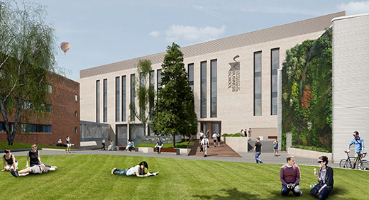 Plans for new Business School building 1