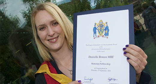 Danielle Brown MBE
