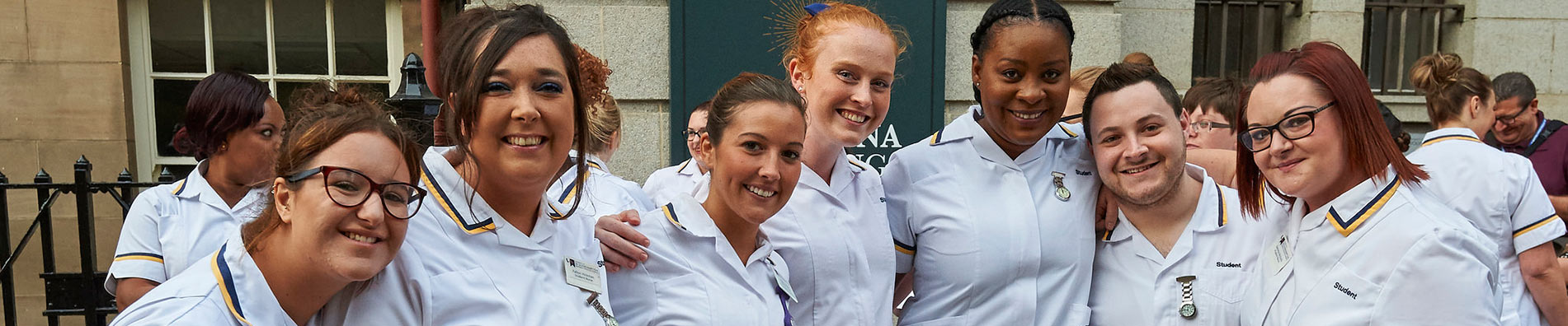 Student Nurses at annual procession